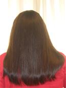 Antes y despues de nuestros servicios de extensiones para alopecia