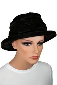 Velvet Knot Hat