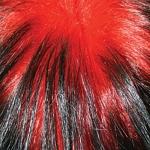 Color Peluca claret