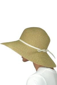 Braided Wide Brim Hat