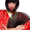 Peluca de peinado de chino y china, fantasia