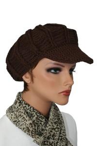 Crochet Cabby Hat