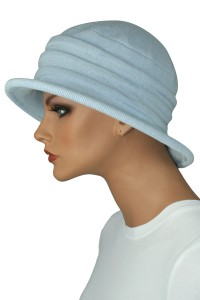 Knit Wide Brim Hat