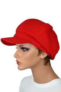 Fleece Newsboy Hat